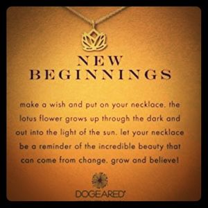 🍂🎃🍂New Beginnings Necklace
